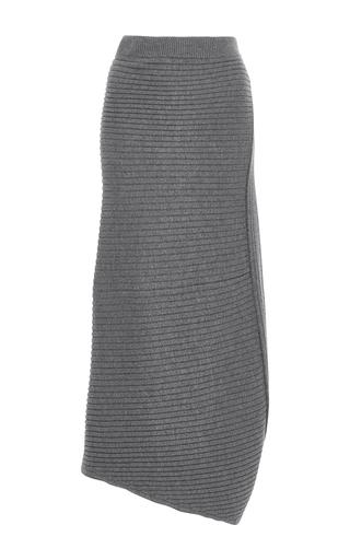 Medium j w anderson dark grey infinity knit maxi skirt