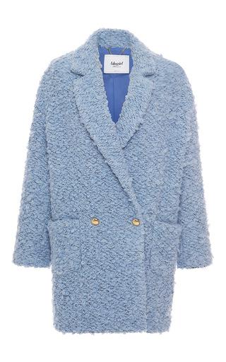 Medium blugirl light blue double breasted coat
