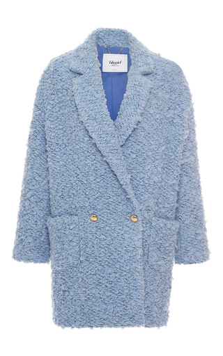 Medium blugirl light blue double breasted coat