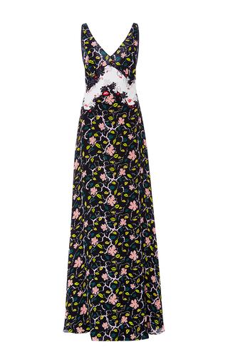 Medium emilio pucci floral printed silk floral gown
