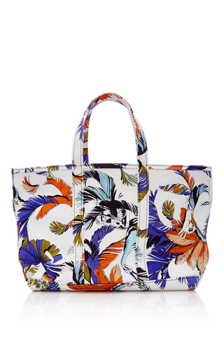 Medium emilio pucci multi large jungle printed canvas tote