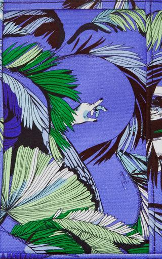 Medium Jungle Printed Canvas Tote  by EMILIO PUCCI Now Available on Moda Operandi
