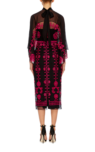 Evadine Embroidered Top by TEMPERLEY LONDON Now Available on Moda Operandi