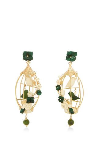 Medium of rare origin green green lovebirds