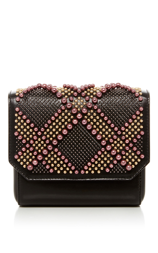 Beaded Box Clutch  by ELIE SAAB Now Available on Moda Operandi