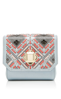Interlaced Leather Box Clutch by ELIE SAAB Now Available on Moda Operandi