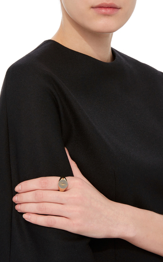 Small Signet Ring by J.W. ANDERSON Now Available on Moda Operandi