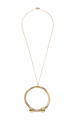 Double Ball Pendant by J.W. ANDERSON Now Available on Moda Operandi