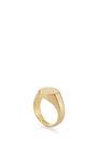 Octagon Signet Ring by EDDIE BORGO Now Available on Moda Operandi