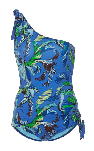 Medium emilio pucci floral one shouldered swimsuit