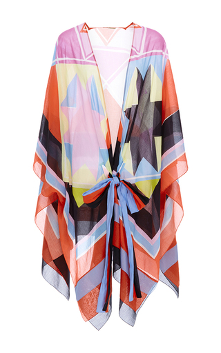 Medium emilio pucci multi printed cotton kaftan