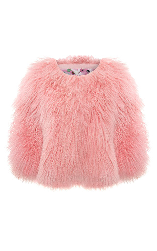 Candyfloss Crop Jacket by CHARLOTTE SIMONE for Preorder on Moda Operandi