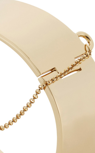 Safety Chain Cuff by EDDIE BORGO Now Available on Moda Operandi