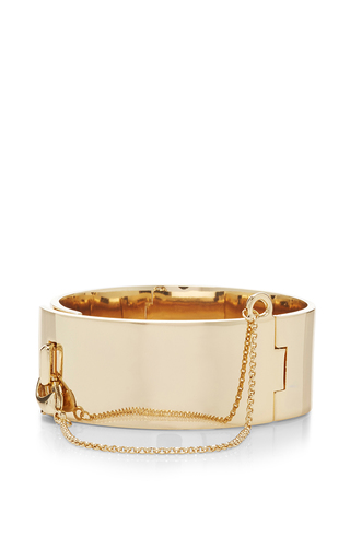 Medium eddie borgo gold safety chain cuff