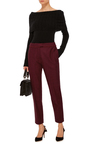 Wool Cropped Trousers by CACHAREL Now Available on Moda Operandi