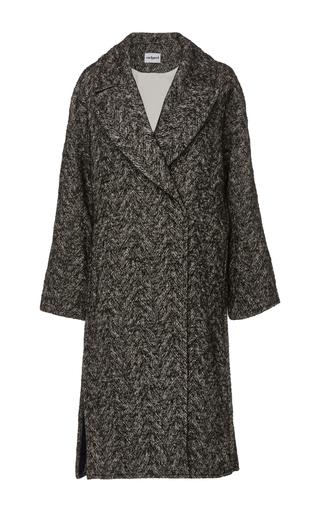 Medium cacharel  2 grey tweed overcoat