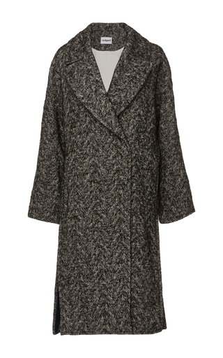 Medium cacharel  2 grey tweed overcoat