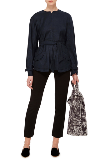 Wool Utility Top by CACHAREL Now Available on Moda Operandi