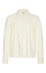 Ruched Long Sleeve Blouse by CACHAREL Now Available on Moda Operandi