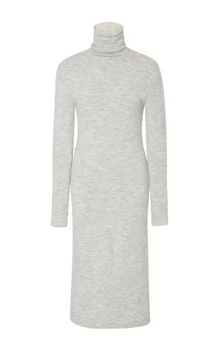 Medium cacharel  2 light grey turtleneck dress
