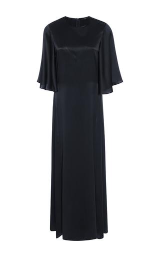 Medium ellery navy louis silk t shirt dress