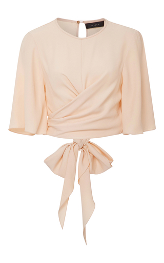 Medium ellery light pink dalliance wrap top  2