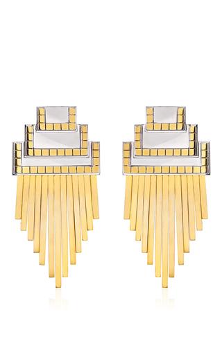 Medium monica sordo gold anuket oversize earrings