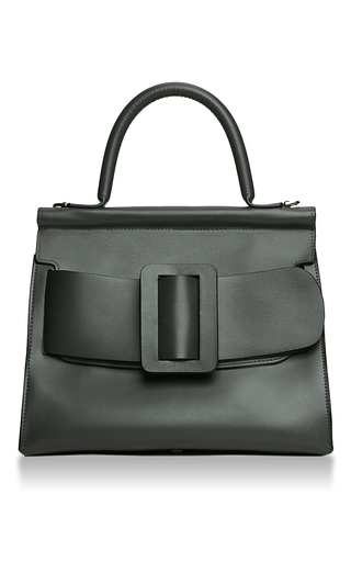 Medium boyy dark green karl satchel