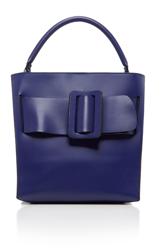 Royal Blue Devon Bag by BOYY for Preorder on Moda Operandi