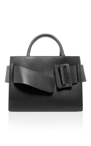 Medium boyy black bobby tote