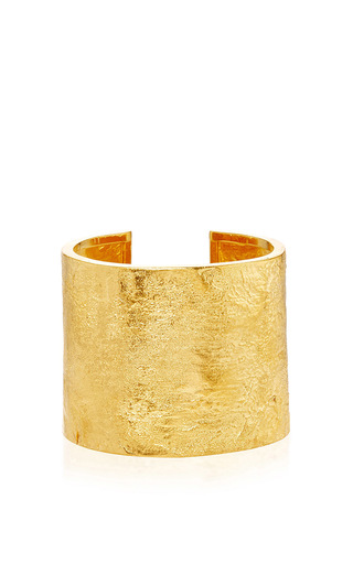 Medium katharine walker gold 18k yellow gold beatrice cuff