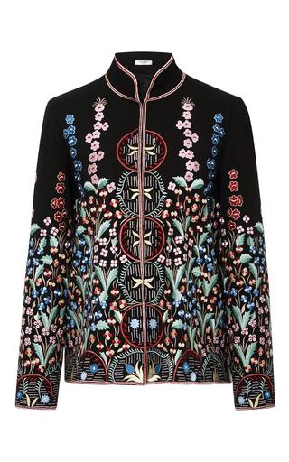 Medium vilshenko black annie garden embroidered shirt