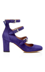 Ginger Suede Pumps  by TABITHA SIMMONS Now Available on Moda Operandi