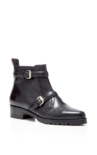 Medium tabitha simmons black black calf aggy boots