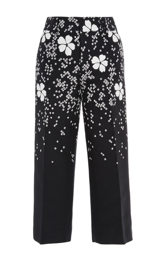 Medium dsquared2 navy mariaclara fantasy jacquard pant