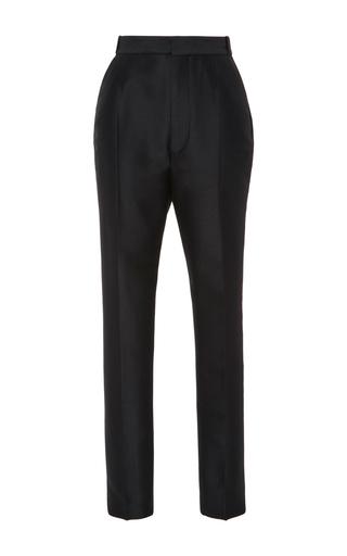 Medium dsquared2 black shioko high waist wool cigarette pant