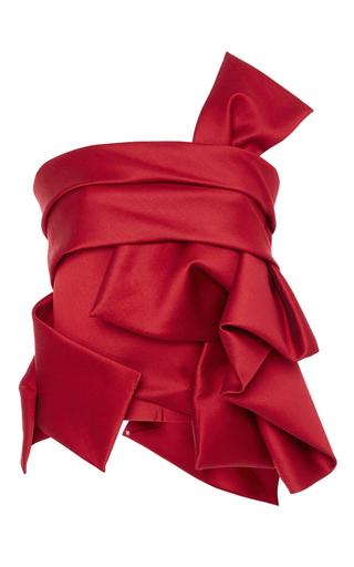 Medium dsquared2 red sculptured wool top