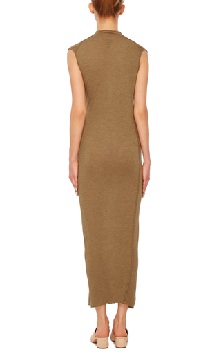 Ruched Midi Dress by RICK OWENS LILIES Now Available on Moda Operandi