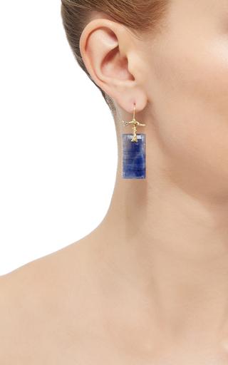 One Of A Kind Sapphire Branch Earrings by ANNETTE FERDINANDSEN Now Available on Moda Operandi