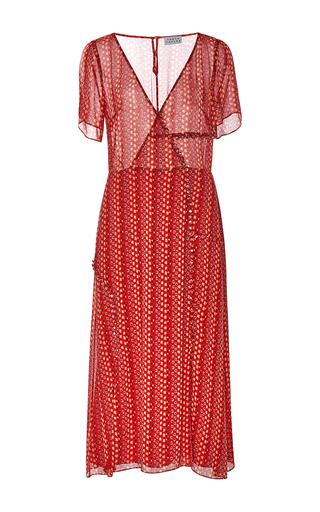 Medium tanya taylor red daphne midi dress