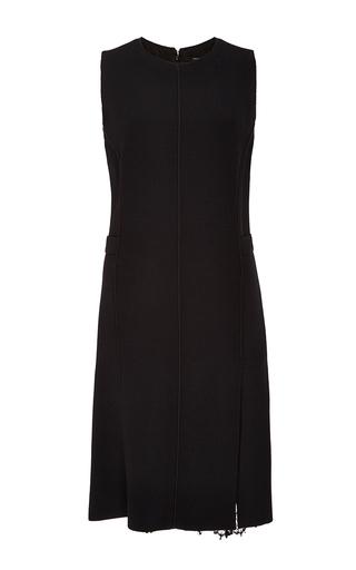 Medium wes gordon black crepe mini dress