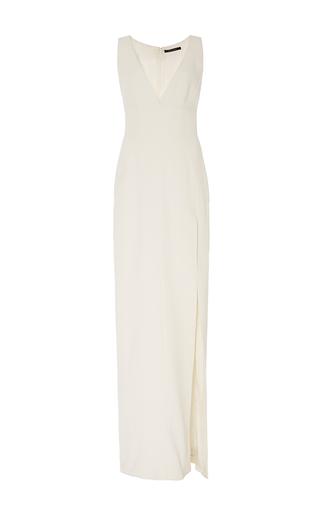 Medium wes gordon white crepe maxi gown