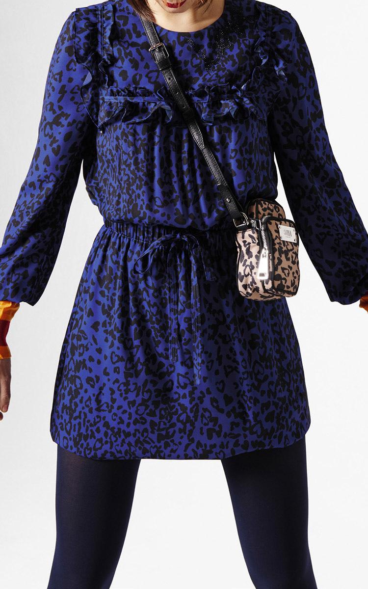b49f3ae8b7 Leopard Print Ruffle Dress by Sonia by Sonia Rykiel