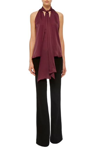 Tie Neck Blouse by PRABAL GURUNG Now Available on Moda Operandi