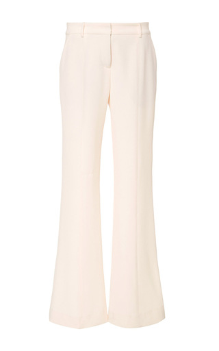 Medium prabal gurung neutral molded seam flare pant