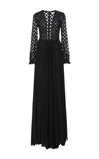 Medium maria lucia hohan black kitty deep v long sleeve dress