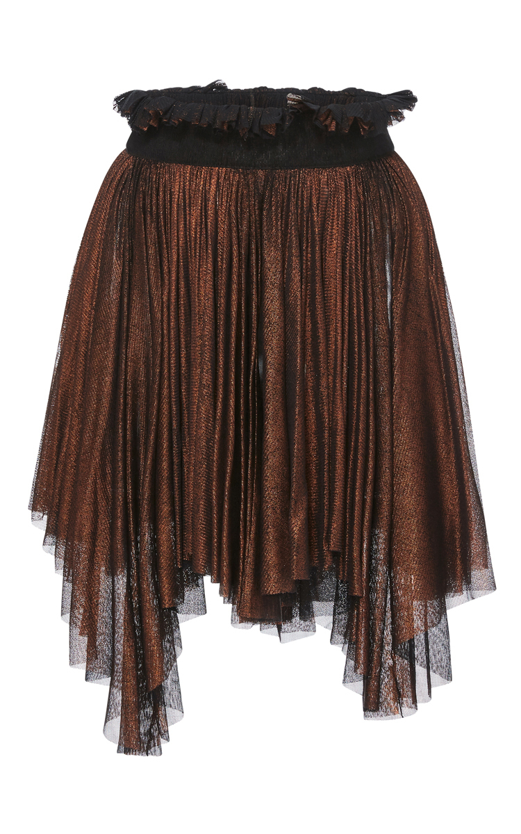 057d0a41e Frannie Pleated Mini Skirt by Maria Lucia Hohan | Moda Operandi