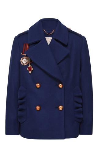 Medium maria lucia hohan navy midnite army style pea coat