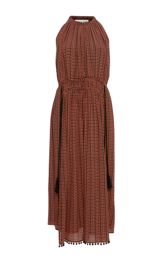 Medium apiece apart coral lippard halter dress