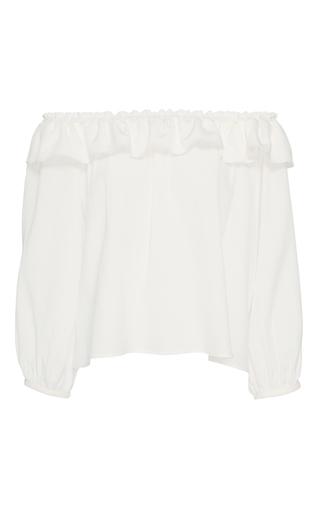 Medium apiece apart off white totto strapless crop top